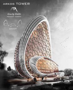 Computer Architecture, Parametric Architecture, Green Architecture, Futuristic Architecture, Sustainable Architecture, Amazing Architecture, Contemporary Architecture, Architecture Design, Free House Plans