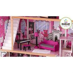 Maison de Poupées en Bois Amélia + 14 pièces - Achat / Vente maison poupee…