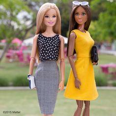Friends on fleek.  #barbie #barbiestyle