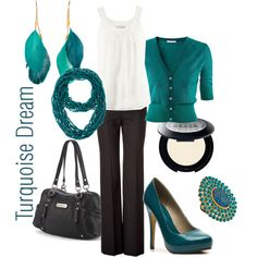 Turquoise Dream ~  I don't know if this should technically be in my dream closet though since I am wearing most of it today though.
