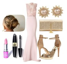 """""""Untitled #116"""" by kola-sara on Polyvore featuring Ariella, Michael Kors, Carolee, Yves Saint Laurent, Lime Crime and Max Factor"""