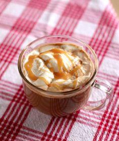 Salted Caramel Mocha Hot Chocolate