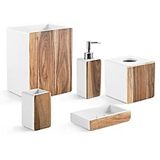 Eco Friendly Bamboo Goes At Right Angles As Clean Lined Natural Bathroom Accessories Each Beautifully Crafted Piece Glows With