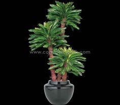 Create a decor with this gorgeous artificialpalmtree which will increase the productivity of your employees