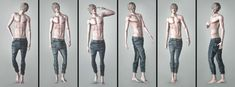 My Sims 3 Blog: Male Poses by Starza