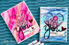 (I) (L)ove (D)oing (A)ll Things Crafty!: You Octopi my Heart Shaker Cards