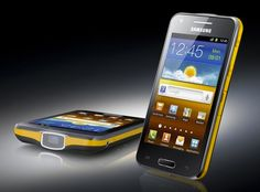 Samsung Galaxy Beam - top of the line Android smart phone, plus a built in projector for sharing whatever you need to share!