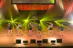 2016年3度目のファンミを開催したT-ARA クリスマスムード満載のハッピー・パーティー