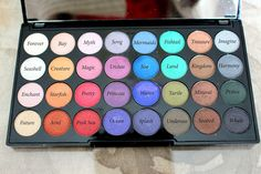 The Sleepy Beauty Blogger: Makeup Revolutions Swatches Part 1: Mermaids Forever Palette, Bronzers and Highlighters