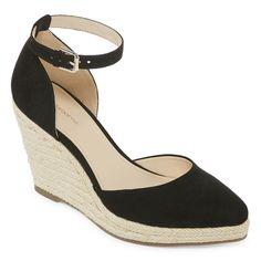 22202c9a6cc Liz Claiborne Velma Womens Wedge Sandals Shoes Flats Sandals