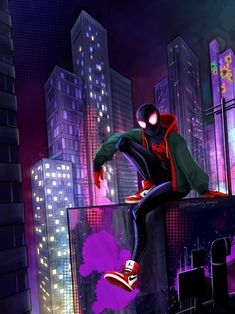 Here's a SpiderVerse drawing I made in December of last year after watching Into the SpiderVerse. I just never got to posting it. Spiderman Art, Amazing Spiderman, Character Modeling, Character Art, Marvel Studios Movies, Miles Morales Spiderman, Superhero Cartoon, Spider Verse, Hero Arts