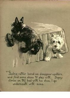Vintage terriers.
