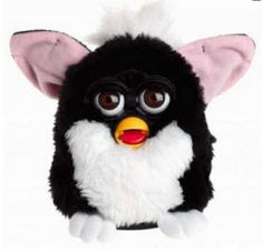 Although he's a little Creepy, Furby was once the hottest thing and very hard to buy. I had a black and a white Furby! 90s Childhood, My Childhood Memories, Bad Memories, Peter Et Sloane, Creepy Toys, 90s Girl, Tech Toys, Oldies But Goodies, My Children