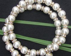 Now 20% off Circle of Pearls and Gold di CircleOfHopeBracelet
