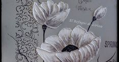 Como hacer un cuadro en relieve, como pintar flores en relieve Diy Angel Wings, Home Deco, Art Drawings, Mixed Media, Shabby Chic, Palette, Collage, Pictures, Painting