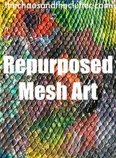Repurposed Mesh Art