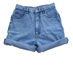 Vintage 90s High Waisted Size 10 Medium Large Shorts Mom Jeans Denim S ❤ liked on Polyvore featuring shorts, bottoms, summer high waisted shorts, short denim shorts, vintage denim shorts, high-waisted jean shorts and high rise jean shorts