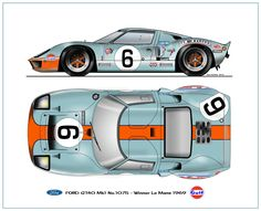 Ford GT-40 1969