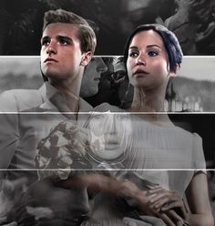 Everlark throughout the films
