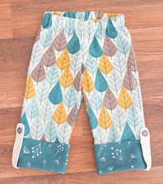 Free pattern: Cuffed pajama pants for toddlers