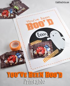 You've Been Boo'd Locker Printable by Club Chica Circle.