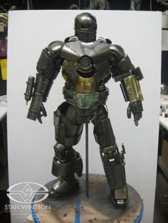 "Iron Man - Building the Mark I ""Cave Escape"" suit 