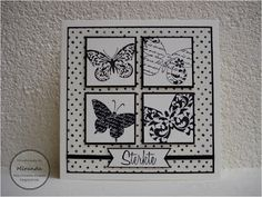 Miranda & # s Kreationen - cartes condoleances - Haar Design Sympathy Cards, Greeting Cards, Marianne Design, Condolences, Butterfly Cards, Diy Projects To Try, Potpourri, Diy Cards, Doodle Art