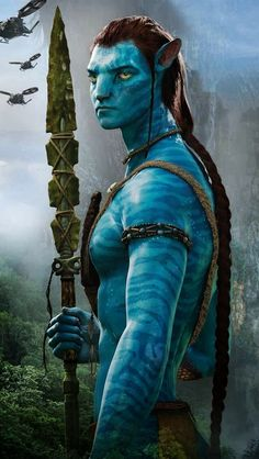 Can I just say I was more attracted to Avatar Jake than human Jake!