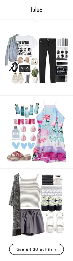 """luluc"" by credentovideos ❤ liked on Polyvore"