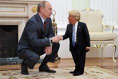 Крошечный Дональд Трамп стал мемом: Мемы: Интернет и СМИ: Lenta.ru