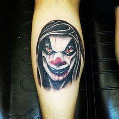 #tattoo #Halloween #clown
