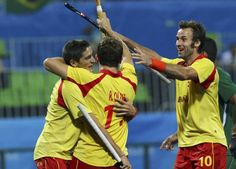 Hockey masculino: Victoria de España ante Brasil Se han impuesto a los anfitriones por 7-0.