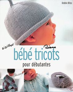 Album sous forme d& Knitting Books, Baby Hats Knitting, Crochet Books, Knitting For Kids, Knitted Hats, Knitting Magazine, Crochet Magazine, Tricot Baby, Crochet Cap