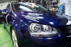 VW・ジェッタ  プライムコート+PCX-S7TOP  ウィンドウ撥水コート:PGS-33全面  こちらのお車は屋外駐車で、以...