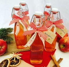 Geschenke aus der Küche: Bratapfelsirup
