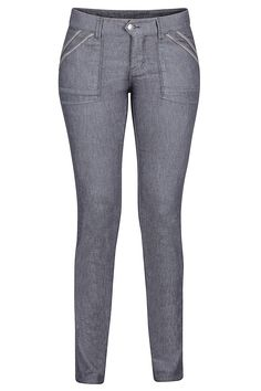 Casual: relaxed and unconcerned. That's the mentality of the Women's Mercill Pant. This lightweight performance woven pant is constructed with a soft cotton and quick-drying polyester blend, stretch for more range of motion, and twill tape details for, well, casual style.