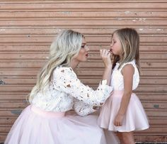 [Ella Brooks Blog] the Ashley Mommy and Me tulle skirt set