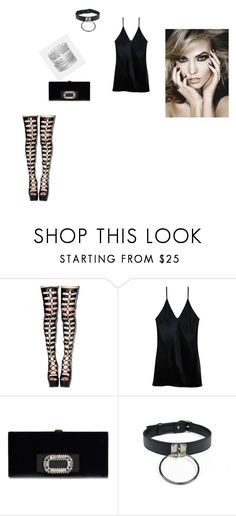 """rock outfit"" by elenatsr on Polyvore featuring Fleur du Mal and Avenue"