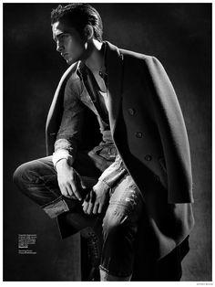 Aleksandar Rusic Models Winter Coats for Sportweek image Aleksandar Rusic Sportweek Fashion Editorial 003 Source by liaisonlibra fashion casual Photography Poses For Men, Fashion Photography, Img Models, Male Poses, Lookbook, Mens Fashion Suits, Fashion Models, Guy Fashion, Winter Fashion