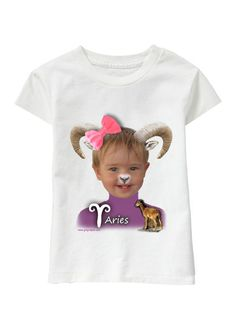 Aries Girl personalized T-shirt www.ghigostyle.com