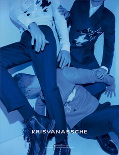 KRISVANASSCHE Fall/Winter 2014 Campaign