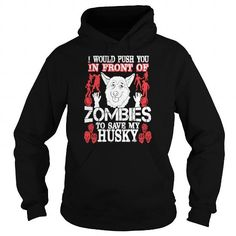 Cool I Push You In Front Of Zombies To Save My Maltese  Mens TShirt Shirts & Tees