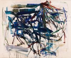 Joan Mitchell // Untitled, 1957. Oil on canvas. 49 x 64.5 inches