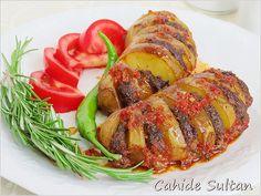 ♡ Köfteli yelpaze patates