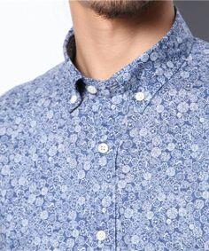 MACKINTOSH PHILOSOPHY Men's(マッキントッシュ フィロソフィー メンズ)のリバティプリントシャツ「Celine London」(シャツ・ブラウス)|詳細画像