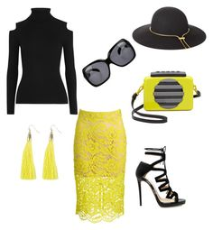 """""""Incognito"""" by quoise on Polyvore featuring Trina Turk, Theory, Jimmy Choo, Marc by Marc Jacobs, Lanvin and Matthew Williamson"""