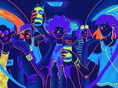 GO-CAR designed by Fauzy Lukman for Gojek Design. Connect with them on Dribbble; the global community for designers and creative professionals. Illustration Design Graphique, Art Et Illustration, Character Illustration, Character Sketches, Art Illustrations, Pop Art Wallpaper, Creative Infographic, Affinity Designer, Photoshop