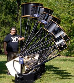 Webster Telescopes - Large Dobsonian Telescopes Diy Telescope, Hubble Space Telescope, Stargazing, Astronomy