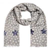 cute stuff, Schal, Stars in Heaven, grau Heaven, Cute, Fashion, En Vogue, Scarves, Sky, Moda, La Mode, Kawaii