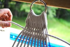 "The Little Dog Blog: Step by Step DIY Hammock - also search ""Hammock Ring"" for the best hanging technique for your situation"